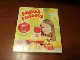 PAPAS FACTORY JUGUETE FABRICA DE PAPAS FRITAS USADA
