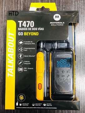 RADIOS MOTOROLA T470