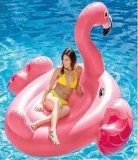 Flotador Flamenco Rosado Intex 56288 Grandes Flamingo Rosado