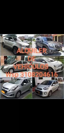 Alquiler de vehículos Pereira