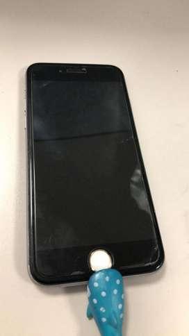 iPhone6 16GB sin huella, caja y cargador