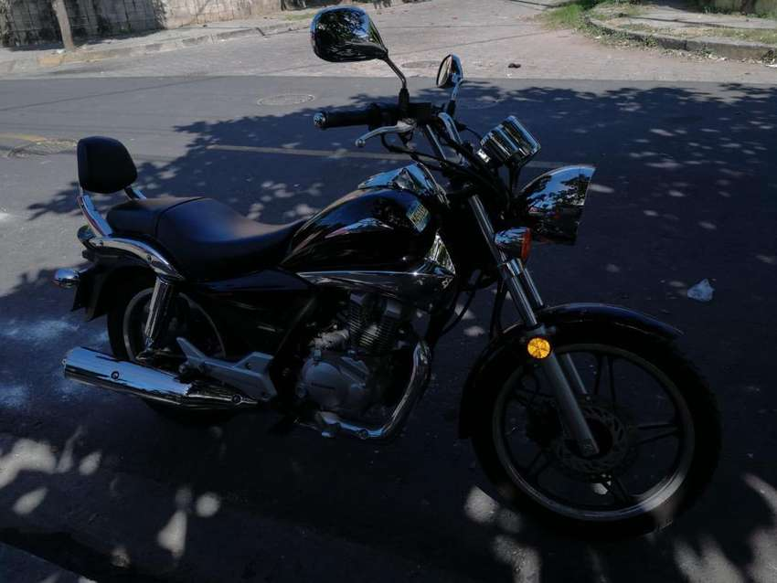 Honda shadow 150 año 2018 0