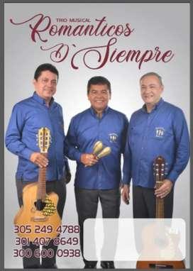 Aquí o Allá Trio Musical Romanticos