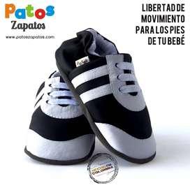 Zapatos Para Bebés Que Empiezan A Caminar. Tenis sin suela.