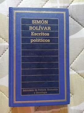 Escritos políticos de Simón Bolivar