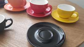 Tazas para cafe diferentes colores