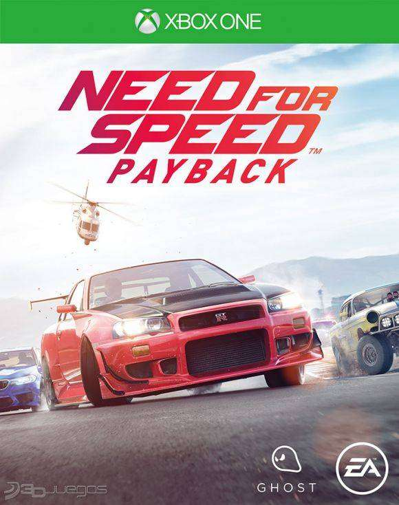 Need For Speed Payback Xbox One, Físico