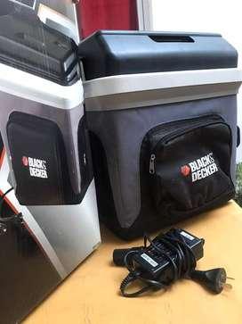 Heladera portatil black decker 24 L. litros 220/12 v