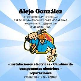 Electricista Profesional a domicilio