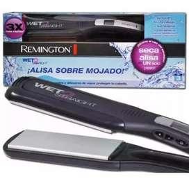 Plancha Remington alisa sobre mojado wet 2 straight original