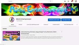 Diseños para tu canal de youtube