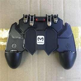 Mando Gamepad FREE FIRE PUBG COD Mobile 4 Gatillos Mando para Celular