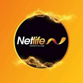 INTERNET - NETLIFE Asesor comercial