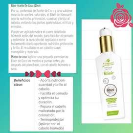 Productos para el cuidado del cabello Natural-Tinturados. Linea Profesional Naissant