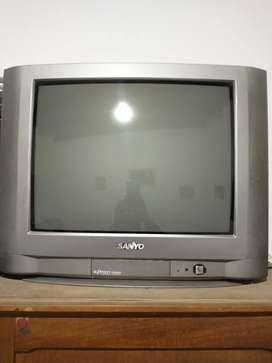 TV color tubo 21 pulgadas más control remoto universal