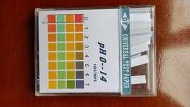 Papel Indicador 014 Caja  100 Unidades