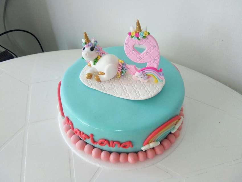 Tortas Decoradas Unicornio Pastel Cumple 0