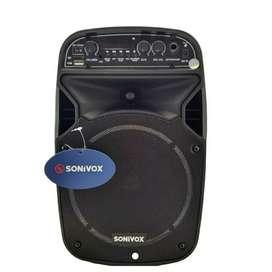 Cabina de sonido Parlante Bluetooth Recargable
