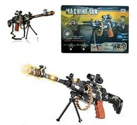Machin pistolas con luz y sonido