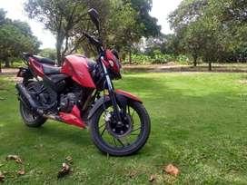 Vendo exelente moto apache 200 RTR Mod 2018
