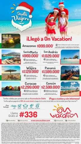 Viaja con On Vacation Reserva Tu Viaje