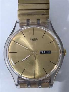 Reloj swatch poco uso original comprado en USA sin caja
