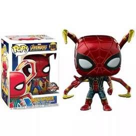 Funko Pop Iron Spider Spiderman Avengers Infinity War Exclusivo