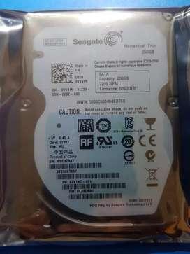 Disco duro 250gb laptop