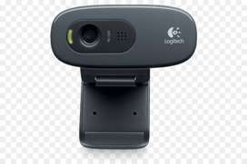 Camara Web Cam Logitech C270 720p Hd Twitch Skype Zoom