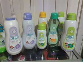 Agu bebes y niños