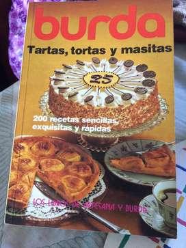 Libro Burda Tartas, tortas y masitas
