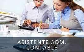 Asistente Administrativo - Santa Anita