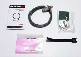 Targus Defcon Cl Laptop Cable de Seguridad 2m Portátil Lock Open Box