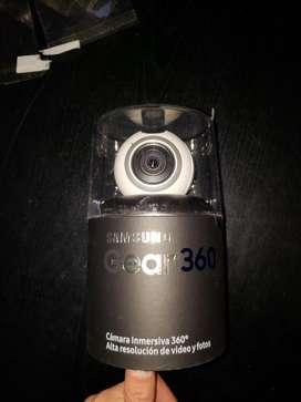 Camara Samsung Gear360 Nueva sin Uso
