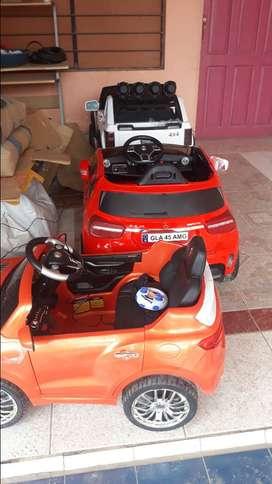 Carros a electricos y a control para niños