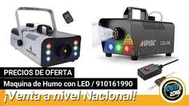 Maquina de humo con LED / OFERTAS / EVENTOS / FIESTAS / LUCES