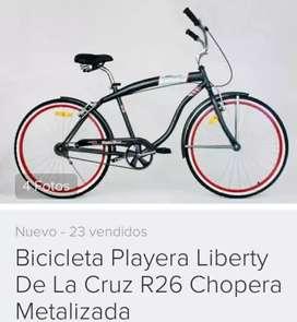 bicicleta playera R26 Liberty Chopera