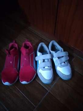Zapatos pumas