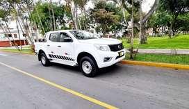 vendo camioneta nissan NP300 2018 full motor sellado mecanica con 6ta solo de uso particular