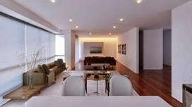 Miraflores, Amplio dpto con 3 salas integradas y cocina con isla. 1 Dpto por piso, Edf. con azotea barbecue.