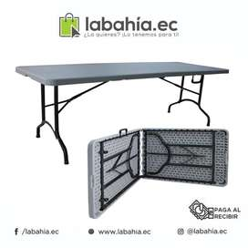 Mesa plegable portátil Ideal Para Ferias, Eventos Patio