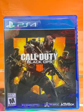 Call of dutty black ops 4 ps4 usado