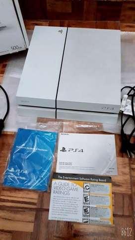 Playstation 4 (igual a nuevo) .
