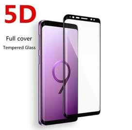 Vidrios Templados 5D SAMSUNG S9 PLUS