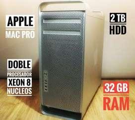 Apple Mac Pro Servidor Xeon Doble Nucleo 32gb Ram - 2 TB -  Como Nuevo