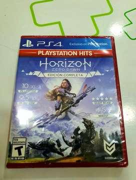 Horizon edicion completa nueva sellada ps4
