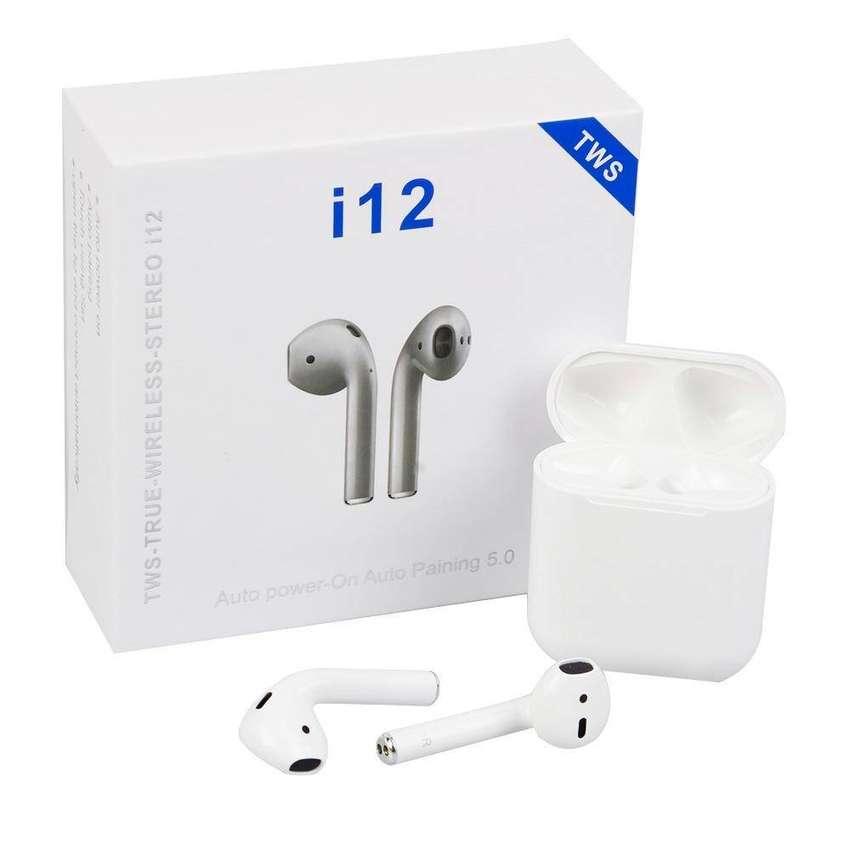 Auriculares Bluetooth Tws I12 Calidad Premium Garantizada CC Monterrey local sotano 5