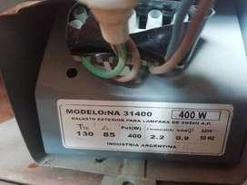 Kit de iluminacion de sodio a alta presion 400w
