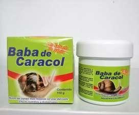 Crema baba de Caracol con sabina y colágeno 110 gramos