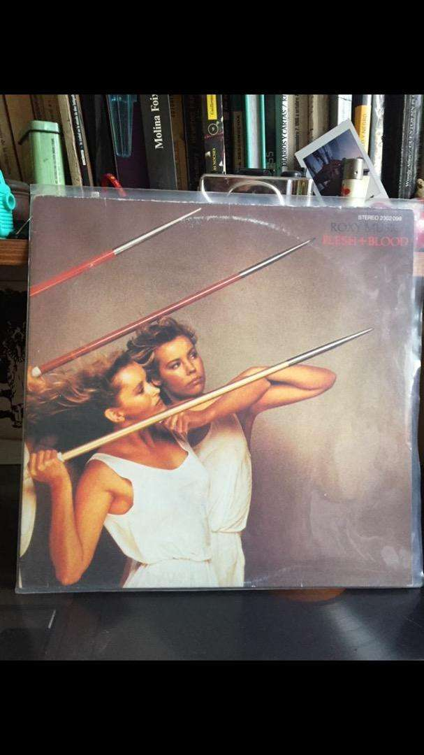 Vinilo Roxy Music - Flesh and blood 0